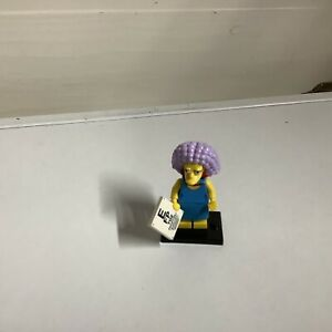 Lego The Simpsons Series 2 Minifigure - Selma Bouvier Complete W/ Eye chart