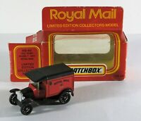 80s matchbox MB44 1921 ford model T van royal mail ,Ltd edition Diecast Model