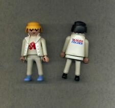 Playmobil -- Figuren -- 2 Stück - Lauer Fischer Apotheke Promo Figur Sonderfigur