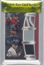 MOOKIE BETTS JD MARTINEZ SALE 2018 TOPPS ALL STAR GAME PATCH /25 BGS 9.5 POP 1/1