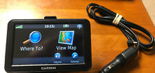 Garmin Nuvi 50LM GPS Bundle With Car Charger And Mount. Free Shipping.