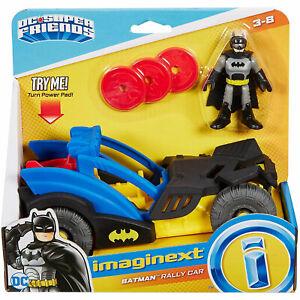 Imaginext DC Super Friends Batman Rally Car *BRAND NEW*
