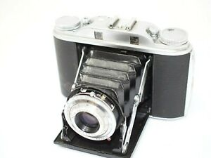 Agfa Isolette III 6x6cm Folding Camera with Case