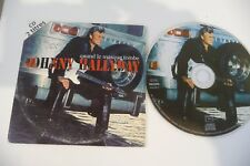 JOHNNY HALLYDAY CD 2 TITRES QUAND LE MASQUE TOMBE / AMI.