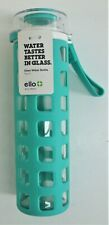 NEW Ello Syndicate 20 oz. Glass Water Bottle With Protective Sleeve #8520841024