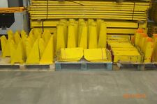 Various Warehouse Pallet Racking Column Guard Leg Protector Health and Safety