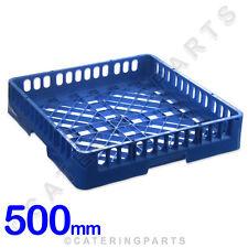 500mm quadrato lavabicchieri lavastoviglie APERTO cestino coppa vetro