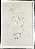 """""""Sitzende"""", 1971 Multiple von Franz EGGENSCHWILER (1930-2000 SUI), handsigniert"""