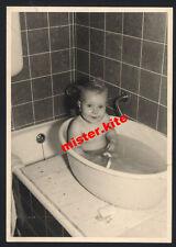 Vintage-photo-cute-Boy - Baby-bathing-Tina-wasching