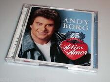 ANDY BORG 25 JAHRE ADIOS AMOR 2 CD'S MIT MEIN LIED FÜR DICH - DIE LICHTER VON AT