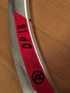 Rigida DP 18 Clincher Felge 26 650C 18l NEU NOS Vintage TT Lo Pro