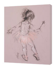 Hazel Bowman - Little Ballerina I - 30 x 40cm Canvas Print Wall Art WDC92780
