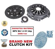 ADL CLUTCH KIT 3 PIECE for DAIHATSU MATERIA MPV M4 1.3 91 bhp 2006->on 1298 cc