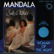 "7"" Sally Oldfield MANDALA/Woman of the Night 80`s Bronzo Records"