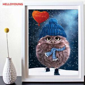 Diamond Painting Owl Cross Stitch Kits Diamond Mosaic Diamond Embroidery Gifts