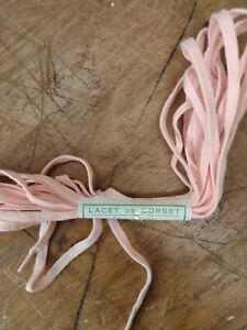 5 metre Pink Cotton Corset Kit Replacement Wedding Gown Dress Cord Back Lace Up