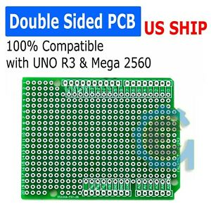 Prototype PCB for Arduino UNO R3 Shield Board DIY Breadboard