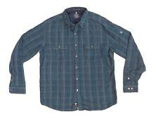 KÜHL Men's Shatterd Long-Sleeve Shirt XL Blue Ink