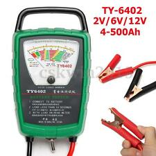 2V/6V/12V Van Auto Car Battery Load Tester Analyzer Charging System TY-6402