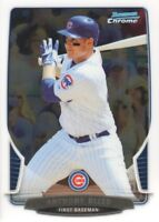 2013 Bowman Chrome Baseball #129 Anthony Rizzo Chicago Cubs