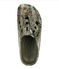 RealTree AP Men's Camo Slip-on Casual Clog Shoes Size 8 Camouflage Water (crocs)