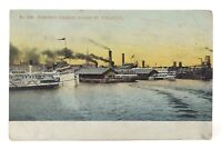 Toronto Harbor Yonge St Wharves Ontario Canada Posted Written On Postcard E569