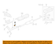 HONDA OEM 02-09 CR-V 2.4L-L4 Exhaust-Converter & Pipe Rear Bolt 18176P08003