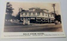 Old Bald Knob Hotel Rt 30 Lincoln Highway Tydol Gas Bedford PA. Postcard Repo