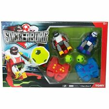 TOMY Soccerborg Radio Controlled RC Robot Football Game