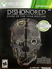 Dishonored Xbox 360 -- Comes in case