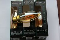 Ambiflex 4w GOLD CANDLE LED DIMMABLE LAMP WITH PURITY FILAMENT E14
