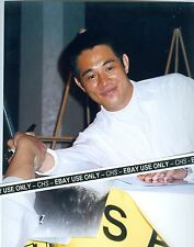 "JET LI COLOR CANDID 8x10 PHOTO ""HERO"" ""ROMEO MUST DIE"" ""LETHAL WEAPON 4"""