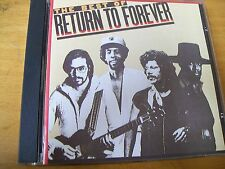 RETURN TO FOREVER THE BEST OF  CD MINT--- CHICK COREA