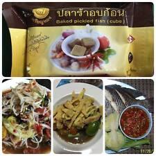 Prara Thai Baked Pickled fish PraRa cube preserved fish iodine ESAN seasoning