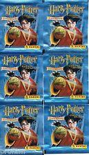 *** Rare ! les 6 pochettes HARRY POTTER et la chambre des secrets 2002 panini