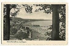 D 13 - Binz, Rügen, Vista oltre Spiaggia, Menta