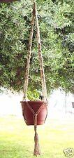 Macrame Plant Hanger 58 in VINTAGE Style 6-ply JUTE