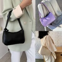 Vintage Women Baguette Bag Female Handbags Lady Small Shoulder Bags Axillary Bag