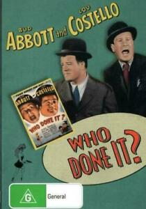 Abbott and  Costello: Who Done It ?  - New and Sealed DVD
