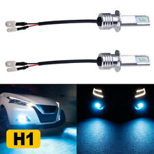 2x 3570 H1 Led Fog Light Bulbs Driving Lamp Running High Power 8000K Ice Blue Us