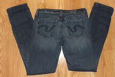 REFUGE SLIM SIZE 7R PRE WASHED COMFY  STRETCHY LOW RISE WOMENS BLUE JEANS