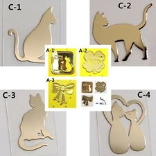 TPD 7pcs 24K Gold Plated Anti Radiation Block Shield Stickers Standard Shipping