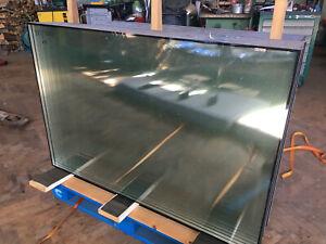 10 Isolierglasscheiben 905 x 1350 mm 4/16/4mm guter Zustand