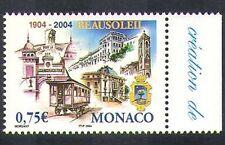 Monaco 2004 Beausoleil/Tram/Rail/Buildings/Architecture/Transport 1v (n38390)