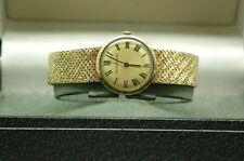 1970's Ladies Solid 9ct Gold Jaeger LeCoultre Bracelet Watch