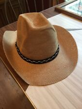 Adult Size Cowboy Hat New - Lightweight Breathable Great For Halloween Costume