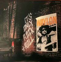 WAYLON JENNINGS Pre-Owned LP- IT''s ONLY R&R-RARELY PLAYED  VG+/VG+