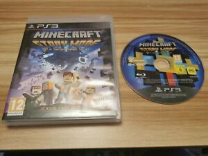 Minecraft: Story Mode For Sony PlayStation 3 PS3 Boxed - See Offer!