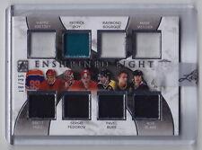2015-16 ITG Enshrined Gretzky Roy Messier Hull Bure Fedorov Blake 8x Jersey /35