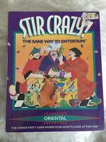 Stir Crazy: Oriental Edition! Dinner Party Game! Brand New! Decipher INC